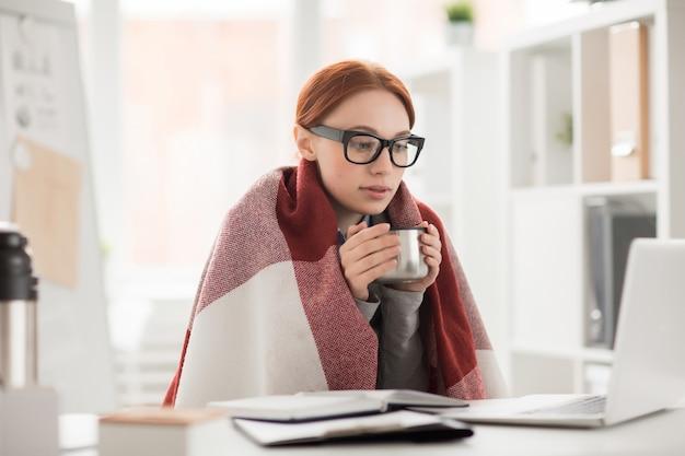 Winter im büro Kostenlose Fotos