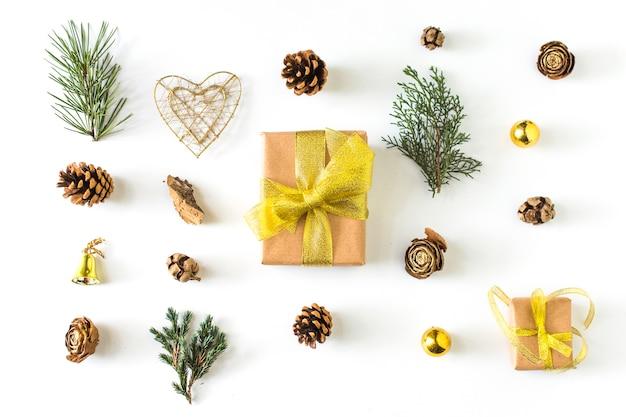 Winter symbole um geschenk Kostenlose Fotos