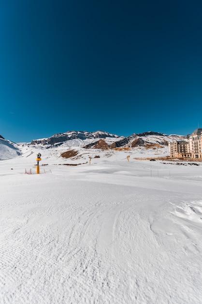 Winterberge in der gusar-region von aserbaidschan Premium Fotos