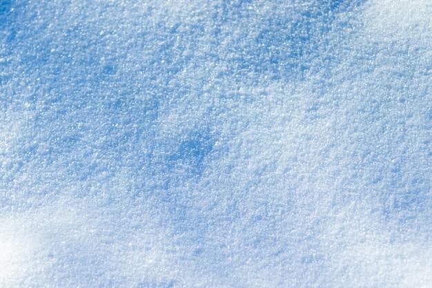 Winterhintergrund mit schnee. hintergrund von schnee und frost mit freiem platz Premium Fotos