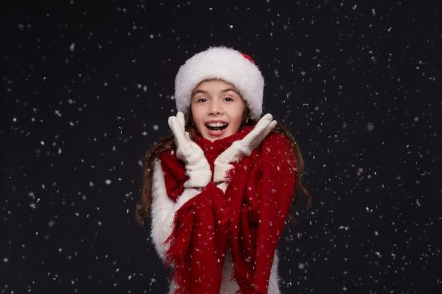 Winterurlaub, weihnachten, neujahrskonzept. Premium Fotos