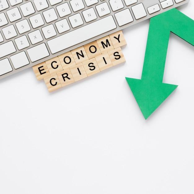 Wirtschaftskrise mit pfeil Kostenlose Fotos