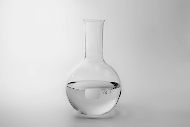 Wissenschaft und medizinische glaswaren und reagenzglas Premium Fotos