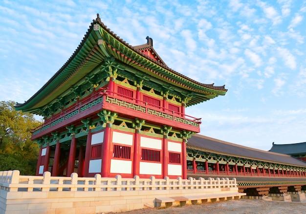 Woljeonggyo-brücke in gyeongju, südkorea Premium Fotos