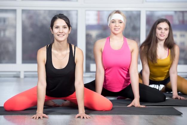 Workout für oberschenkel und leisten Kostenlose Fotos