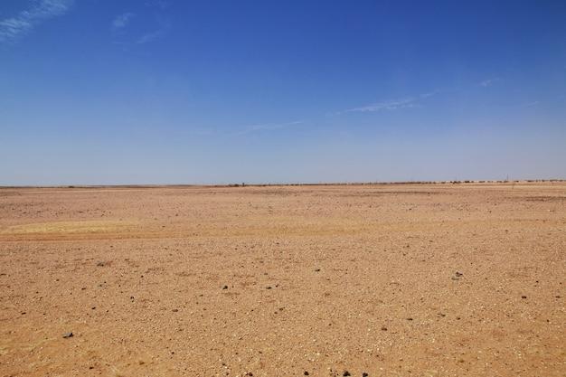 Wüste von sudan Premium Fotos