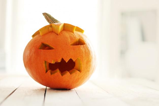 Wütender halloween-kürbis Kostenlose Fotos