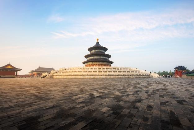 Wunderbarer und erstaunlicher peking-tempel Premium Fotos