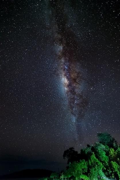 Wunderschöne milchstraße Premium Fotos