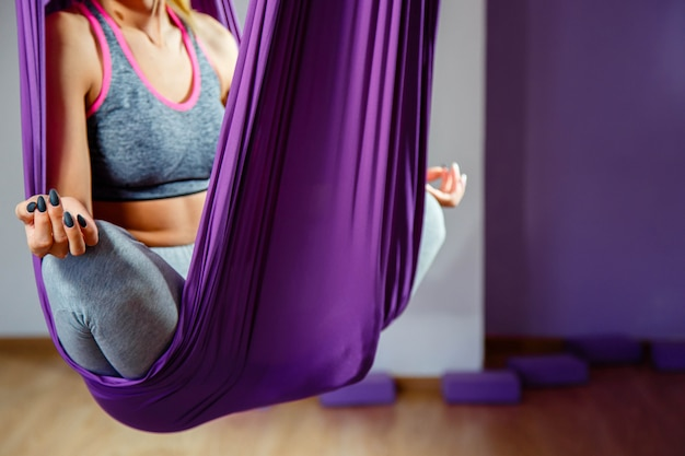 Yoga praktizieren Premium Fotos