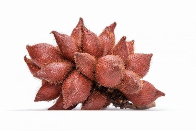 Zalacca oder salacca oder salak tropische asiatische früchte Kostenlose Fotos