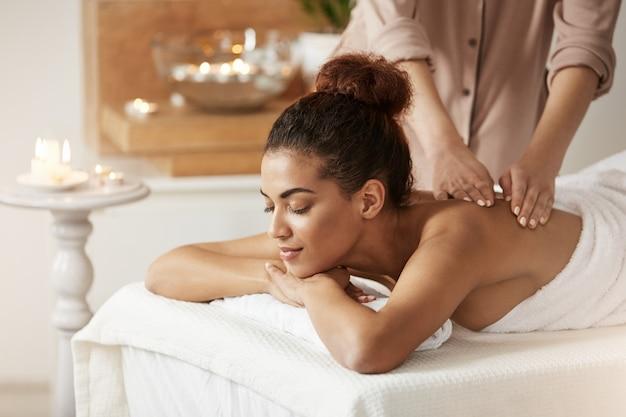 Zarte Massage