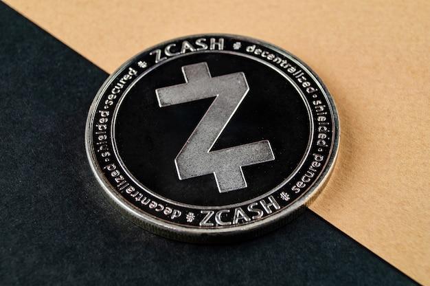 Zcash ist eine moderne art des austauschs und der webmärkte Premium Fotos