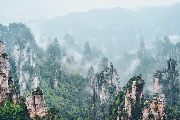 Zhangjiajie berge, china Premium Fotos