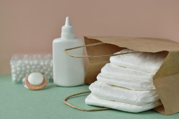 Zubehör für die kinderhygiene Premium Fotos