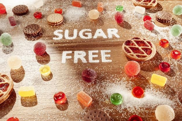 Zuckerfreie kuchen. diätessen. Kostenlose Fotos
