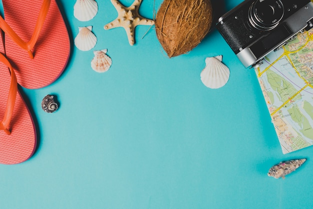Zusammensetzung der sommerelemente Kostenlose Fotos