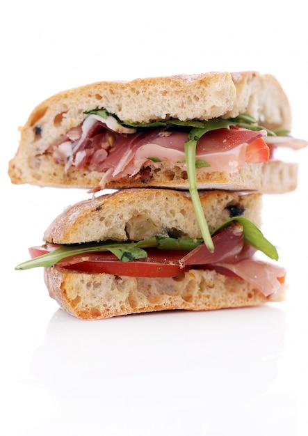 Zwei leckere sandwiches Kostenlose Fotos