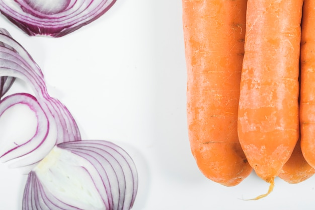 Zwiebeln und karotten Kostenlose Fotos