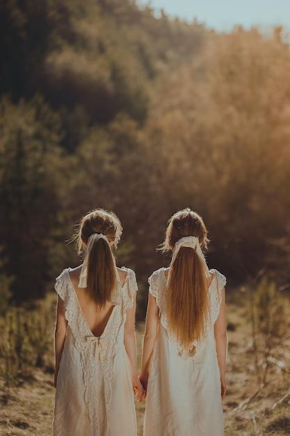 Zwillinge Premium Fotos