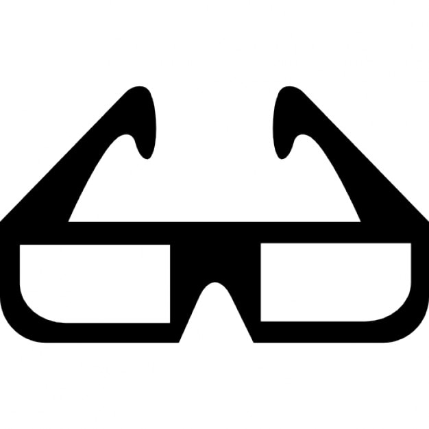 3d cinema glasses Icons | Free Download