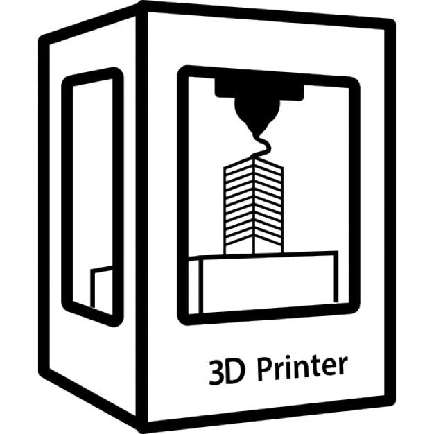 3d Printer Icons Free Download