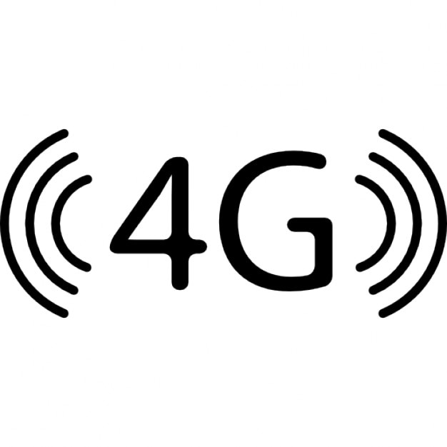 4g phone connection symbol icons