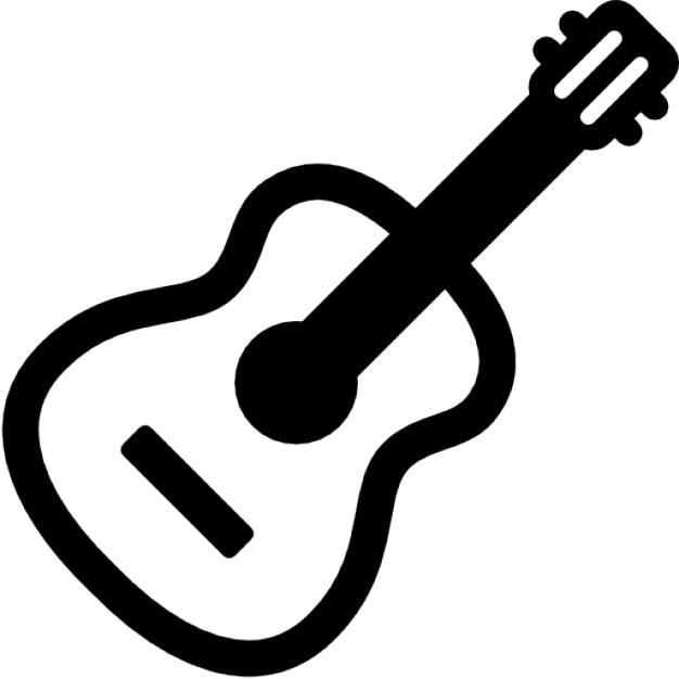 クラシックギター 無料アイコン