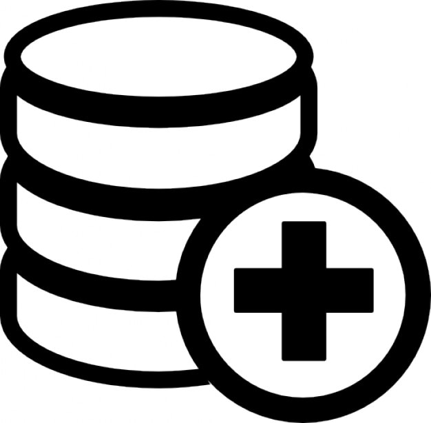 Add database symbol Free Icon