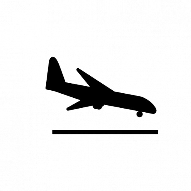 airplane landing icons free download rh freepik com