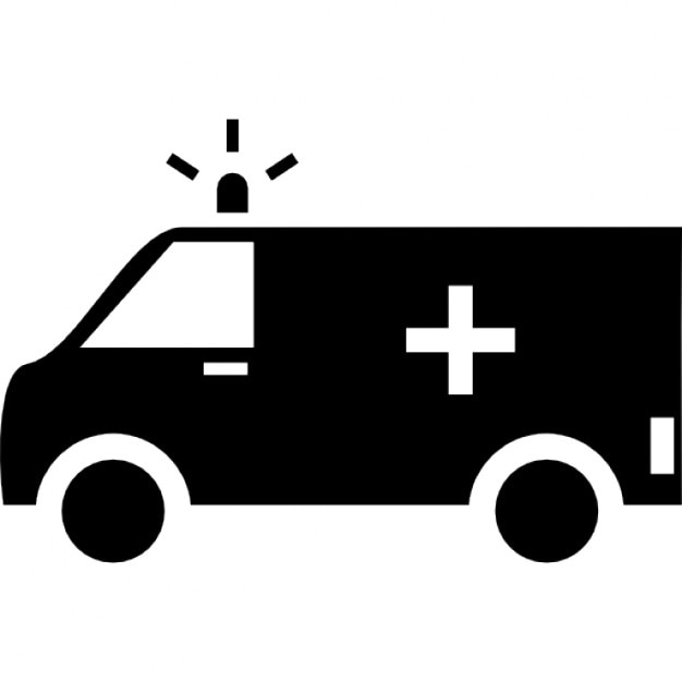 Ambulance Ios 7 Interface Symbol Icons Free Download