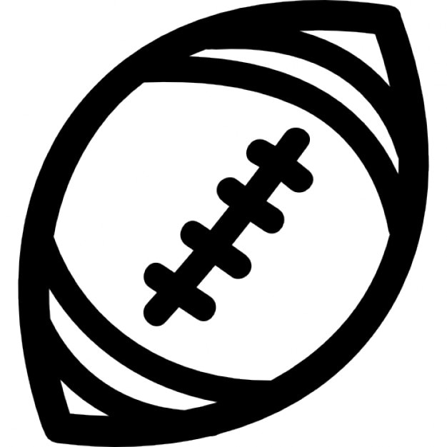 american football outline - photo #5