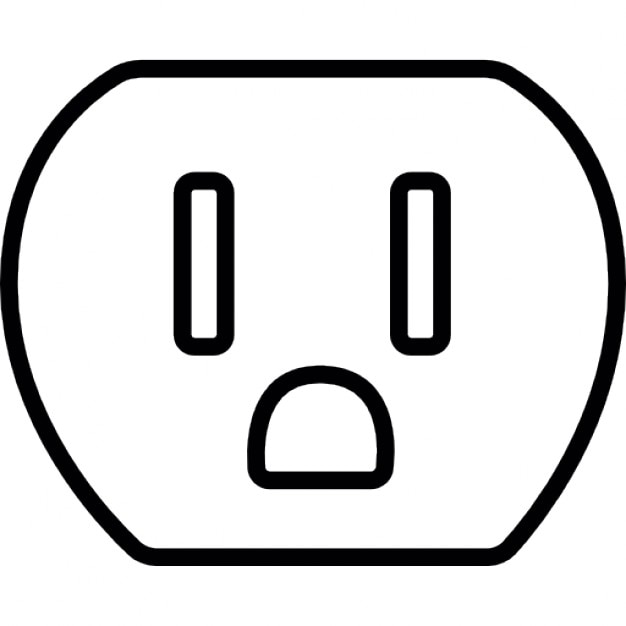 American plug Icons | Free Download