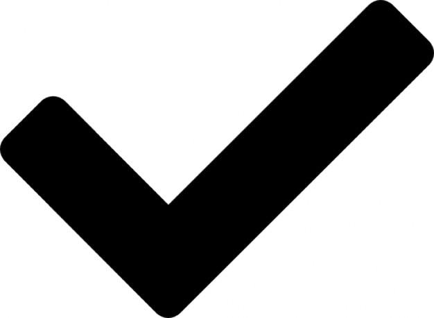 Approve symbol Free Icon