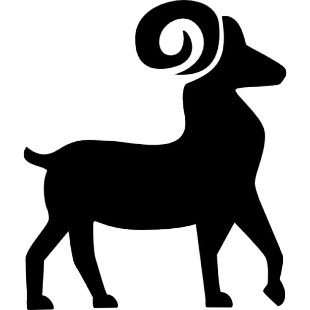 Aries Symbol Icons Free Download