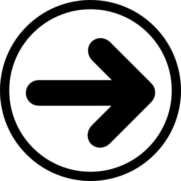 Free Icon | Arrow in circle