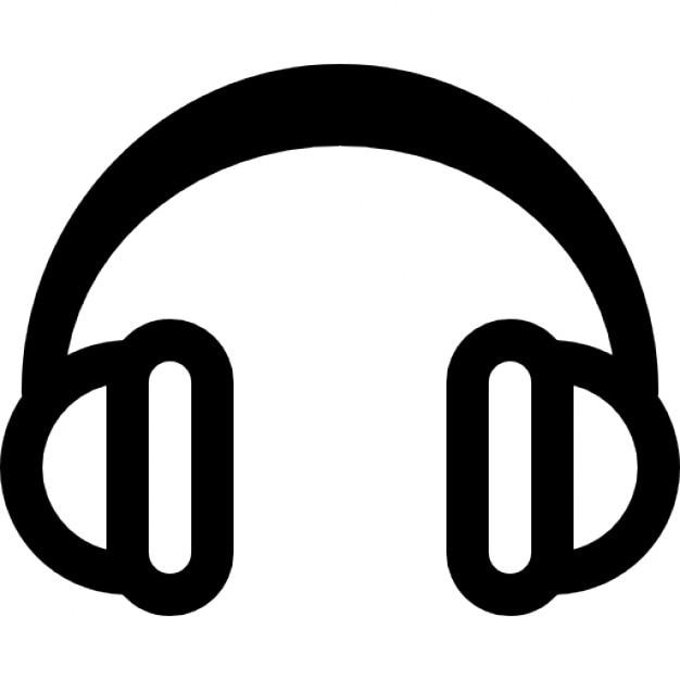 Dessin Casque Audio audio headphones icons | free download