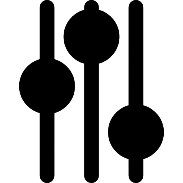 Audio mixer controls Icons | Free Download