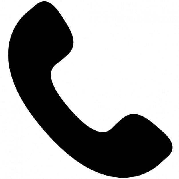 Auricular phone Free Icon