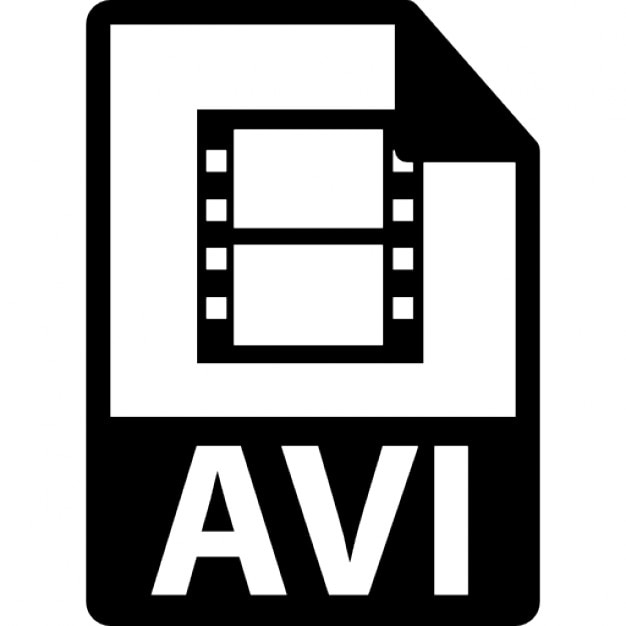 avi file format variant icons free download