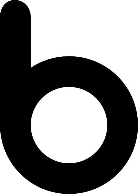 b icon icons free download