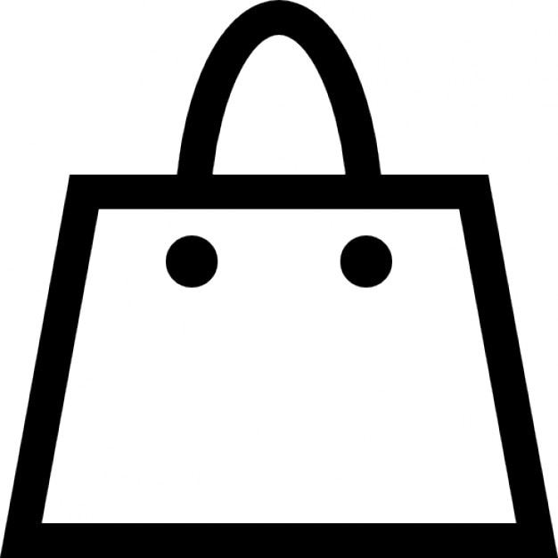 bag outline icons free download