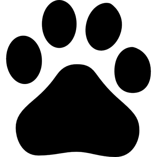baidu paw logo icons free download dog paw print vector png cat and dog paw print vector
