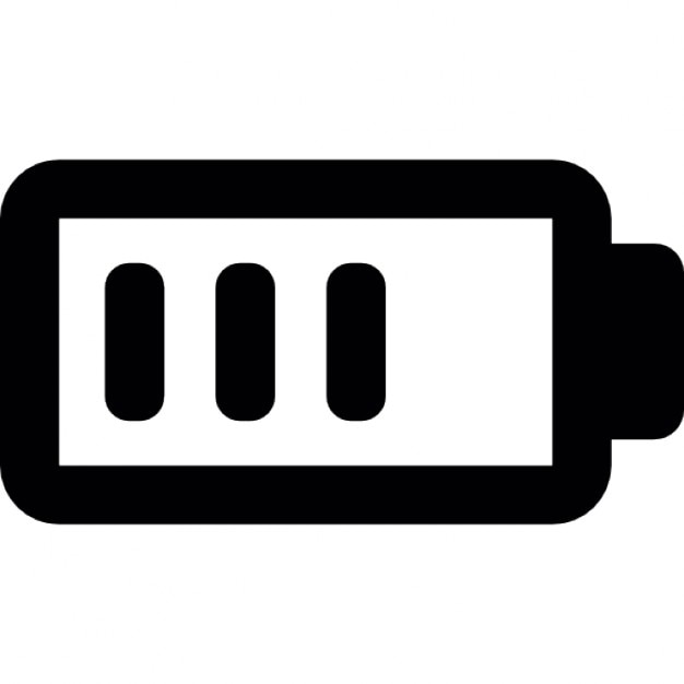 Battery charge almost full Icons | Free Download