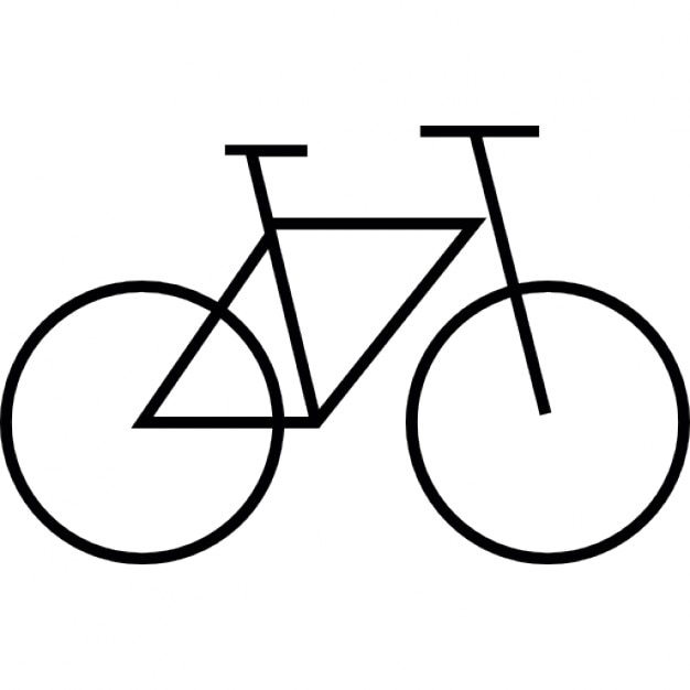 Bicycle, IOS 7 interface symbol Icons