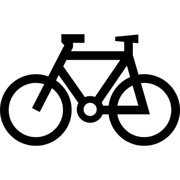 Bicycle outline Icons