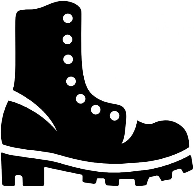 Big boot Free Icon