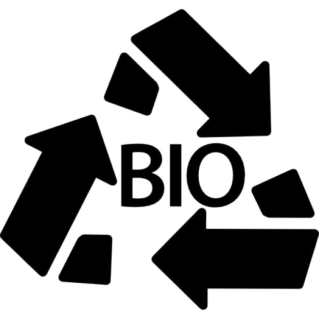 Bio Mass Recycle Symbol Icons Free Download