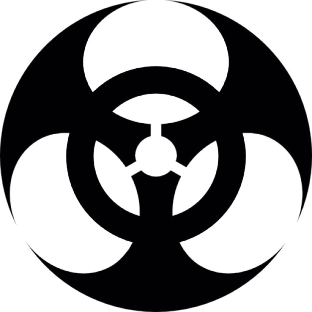 Biological Hazard Symbol Icons Free Download