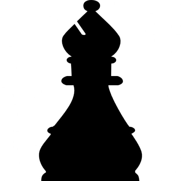 Bishop Chess Piece Icons Free Download